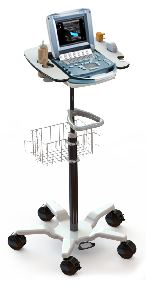 Foetal Monitoring Cart
