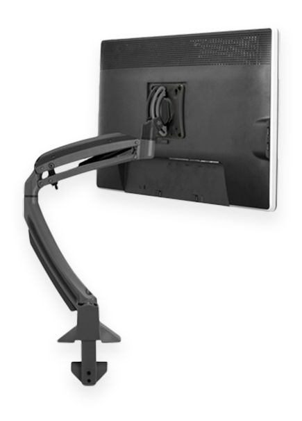 ergonomic desk mount