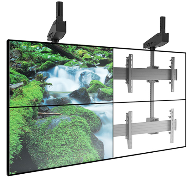 Large Ceiling Mounted Video Wall
