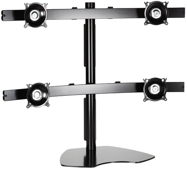 Quad Display Table Stand