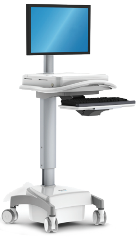 EconoLite Infinity Cart - Mobile Computer Cart for Healthcare