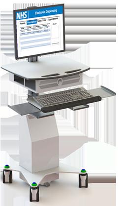 24 Inch Medical Grade All in One PC | CyberMed H24 | Cybernet
